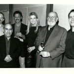 "Champagne toast for the success of ""Breathe"". Christopher Palmer Phil Quartararo, Gary Borman, Faith Hill, Russ Thyret, David Altschul."