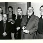"Champagne toast for the success of ""Breathe"". Christopher Palmer Phil Quartararo, Gary Borman, Faith Hill, Russ Thyret, David Altschul."