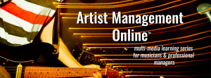 Multi-media learning series for musicians and professional music managers.